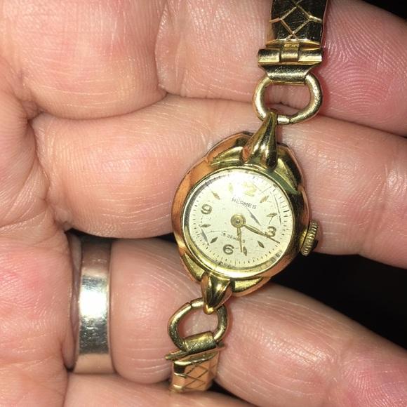 Hermes Accessories - Hermès vintage mechanical watch